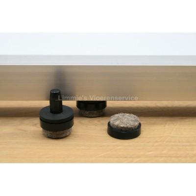 Foto van Viltglijder voor vierkante buisframe (vervangbaar)