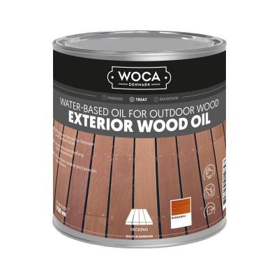 Foto van Woca Exterior Wood Oil Bangkirai