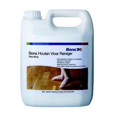 Foto van Bona Navulling Houten Vloer Reiniger 4 liter