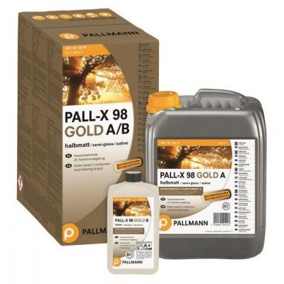 Foto van Pallmann Pall-X 98 Gold 2k Parketlak