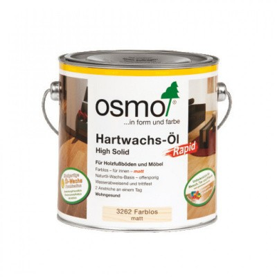 Foto van Osmo Hardwax Olie Rapid 3262 Mat