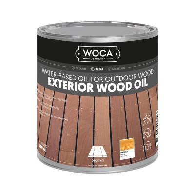 Foto van Woca Exterior Wood Oil Naturel