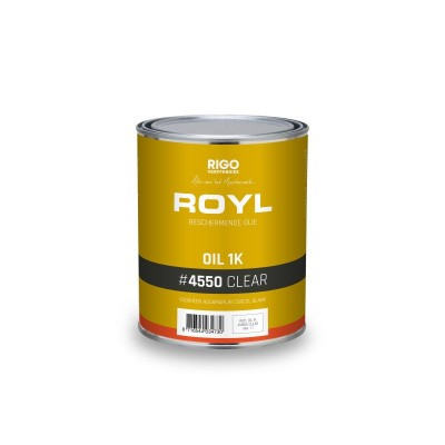 Foto van Royl Oil 1K #4550 Clear