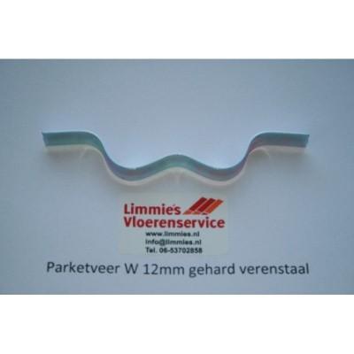 Foto van Parketveer W 12mm gehard verenstaal