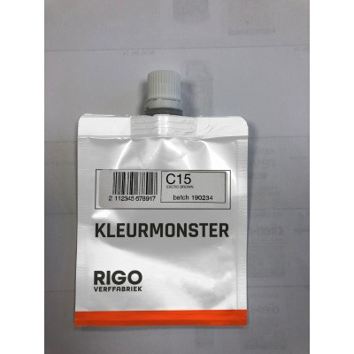 Foto van Royl Kleurmonster Exotic Brown C15