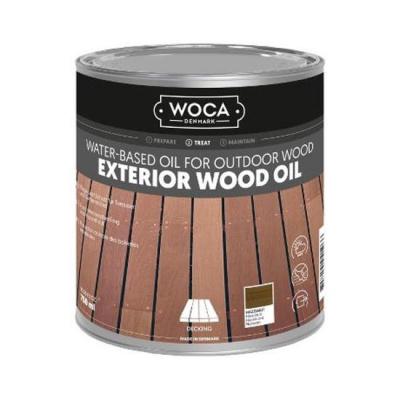 Foto van Woca Exterior Wood Oil Hazelnoot