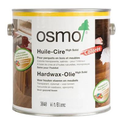 Foto van Osmo Hardwax Olie 3040 Wit