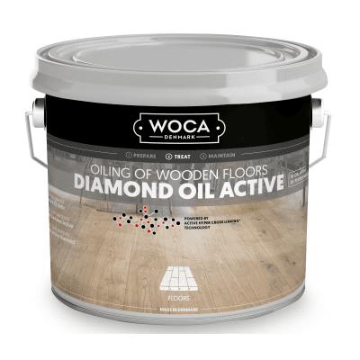 Foto van Woca Diamond Oil Active Sand Grey
