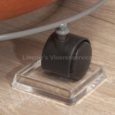 Foto van Beschermcup voor wieltjes vierkant