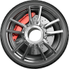 Afbeelding van Spaakbeschermers Deluxe voor rolstoelwielen (set)