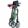 Afbeelding van Ultra Lichtgewicht Rollator Dubbel Vouwbaar Trive Groen