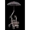 Afbeelding van Rolstoel en Rollator paraplu basic voor ronde buizen