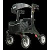 Afbeelding van Ultra Lichtgewicht rollator Nitro Carbon (medium) met ultra soft wielen