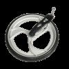 Afbeelding van Rollator Voorwiel Nitro en Travixx met voorvork RECHTS