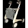 Afbeelding van Ultra Lichtgewicht Carbon Rollator by Acre (4.9 kg) Beige