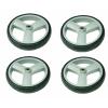 Afbeelding van Set wielen van 4 stuks voor rollator Kaigo