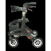 Afbeelding van Ultra Lichtgewicht rollator Nitro Carbon (large) met ultra soft wielen