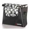 Afbeelding van Rollator tas voor rollator Topro Troja Classic en 2G (baroque zwart-wit)
