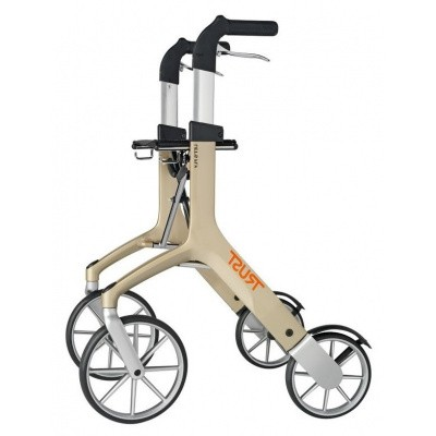 Ultra Lichtgewicht Rollator Let's Fly Champagne