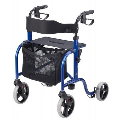 Ultra Lichtgewicht rollator Smart blauw