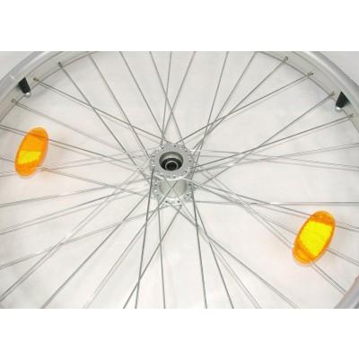 Reflector voor rolstoelwiel met spaken (set)