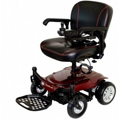 Foto van Elektrische rolstoel Kymco K-Chair rood