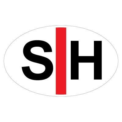Embleem Sticker voor Doven en Slechthorenden