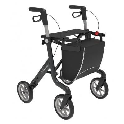 Ultra lichtgewicht rollator Streamer Zwart Large