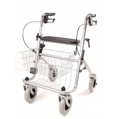 Rollator Basic Eco Plus grijs