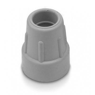 Dop wandelstok 25 mm Grijs
