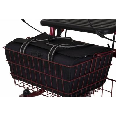 Rollator tas voor in mandje