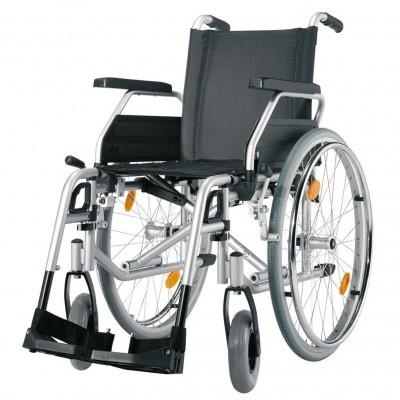 Foto van XL rolstoel verhuur