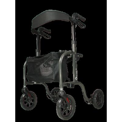Rollator Kaigo Evo Comfort met Ultra Soft wielen