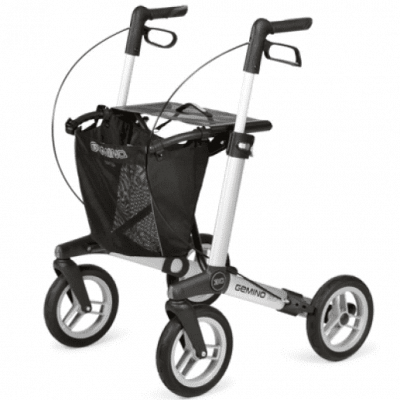 Lichtgewicht rollator Gemino 30M Comfort Zilver