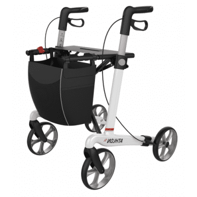 Ultra Lichtgewicht rollator Athlon carbon (Large) WIT