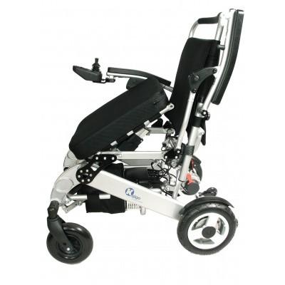 Foto van Opvouwbare Elektrische rolstoel Kaigo Compact Sta op