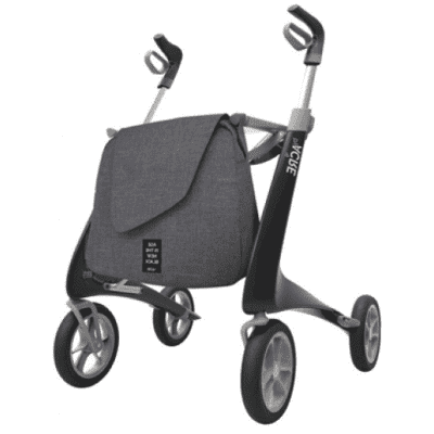 Foto van Ultra Lichtgewicht Carbon Rollator by Acre (4.9 kg) Large