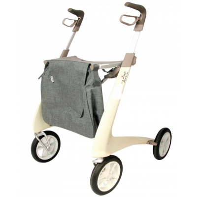 Ultra Lichtgewicht Carbon Rollator by Acre (4.9 kg) Beige