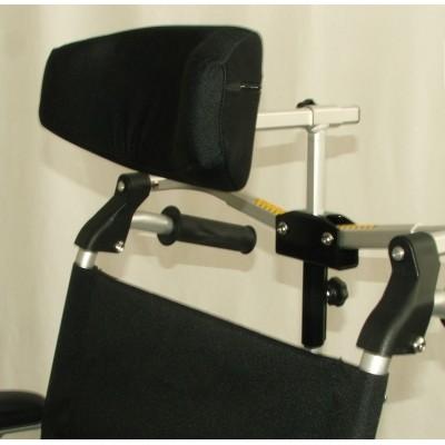 Hoofdsteun voor rolstoel 22mm