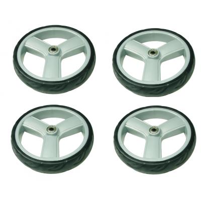 Set wielen van 4 stuks voor rollator Kaigo