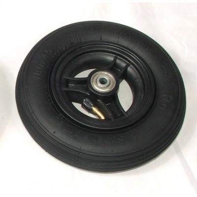 Wiel 175x40mm (7x1.3/4 inch) Luchtband zwart