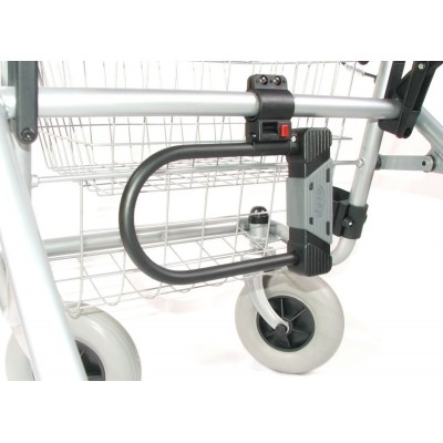 Beugelslot voor rolstoelen en rollators