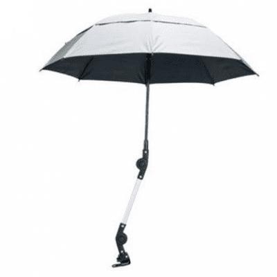 Rolstoel en Rollator paraplu zilver glans