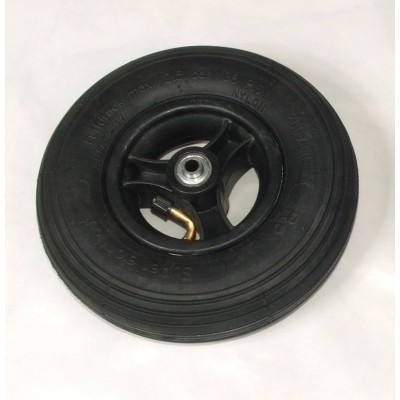 Wiel 200x50mm (8x2 inch) Luchtband zwart
