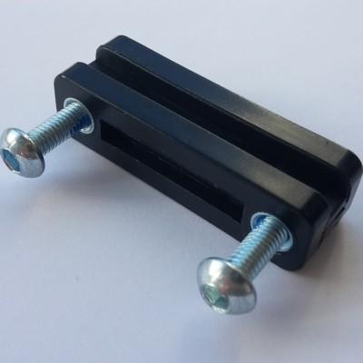 Schuifmechanisme aan Tas rollator Nitro en Travixx