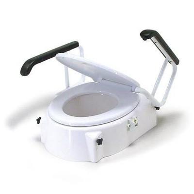Toiletverhoger met armleuningen (8-10-12cm)