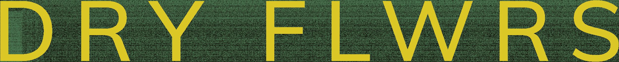 logo van Dry FLWRS | Droogbloemen & Droogboeketten