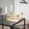 Bild von Kerzenständer - Gold.