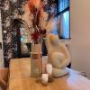 Afbeelding van Stompkaars CROSS - Blossom Groot