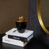 Afbeelding van Zwart Potje met Gouden Leeuw -10,5x15cm